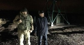 Kharkiv separatist Lohvynov caught while trying to escape to Russia. PHOTOS