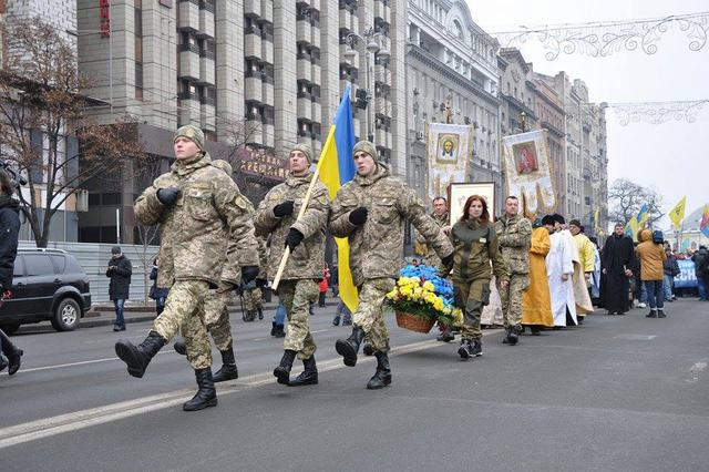 Memory of Heavenly Hundred Heroes honored in Kyiv 06