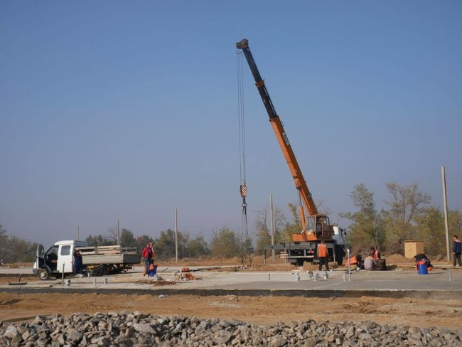 Construction of customs checkpoint Kalanchak between Kherson region and Crimea at the final stage 03
