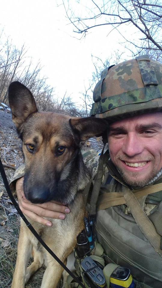 Ukrainian soldier Dmytro Overchenko killed in yesterday's battle near Avdiivka 01