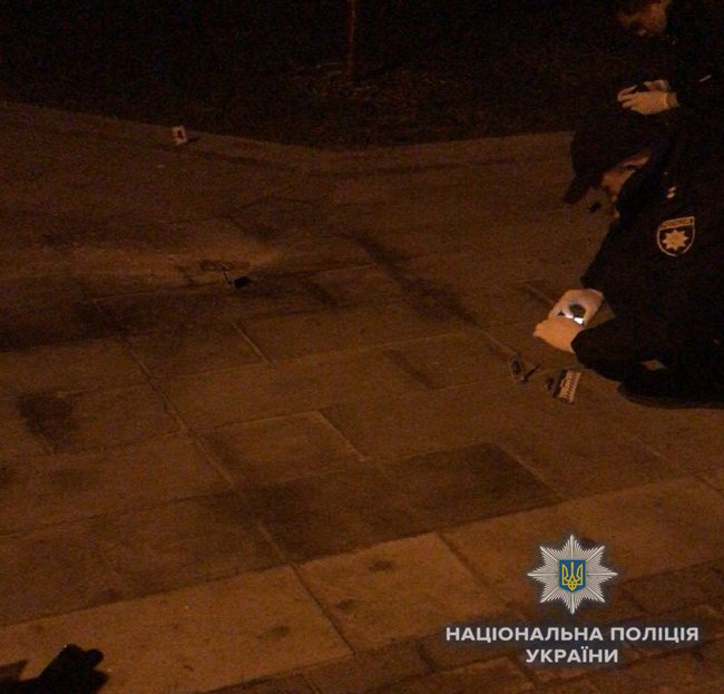 Two persons injured in alleged grenade explosion in Kyiv's Kyoto Park last night, - National Police 03