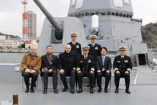 Rada Chair Parubii visits Japan, attends naval base, discusses military cooperation 01