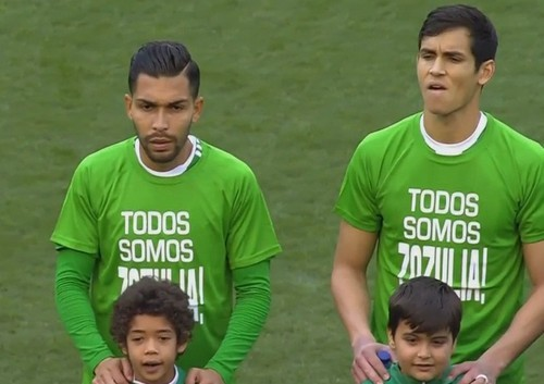 """We are all Zozulia,"" - Betis football players expressed solidarity with Ukrainian athlete 02"