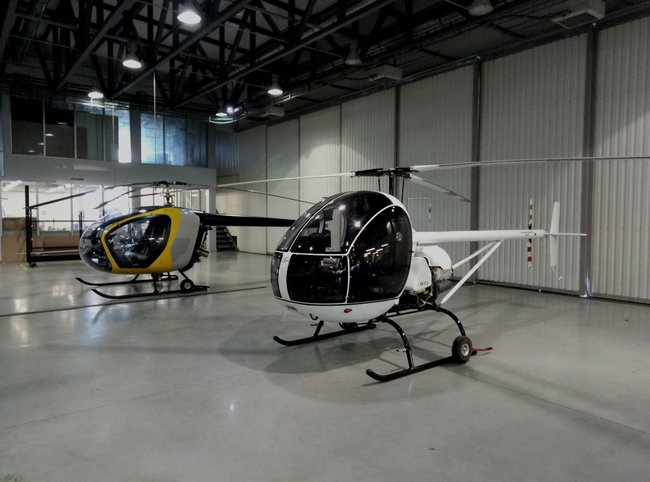 Domestic helicopters can help solve wide range of military and civilian tasks, NSDC chief says 02