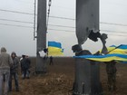 Power lines repair in Kherson region stopped at protesters` demand, - Ukrenerho