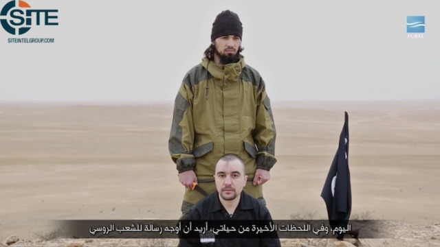 ISIS announces execution of Russian colonel in Syria 01