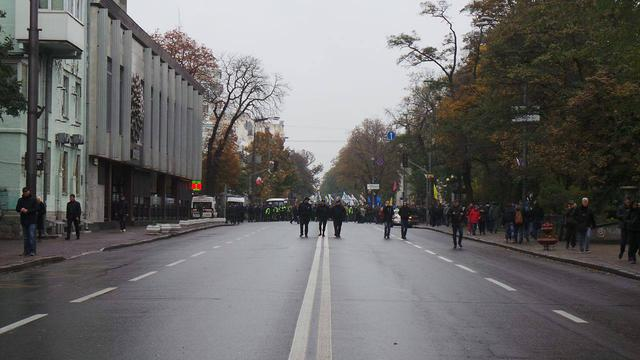 Protests near Rada building in Kyiv on Oct. 17 25