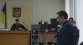 Court starts hearing case of person charged with abduction of Euromaidan activists. PHOTOS