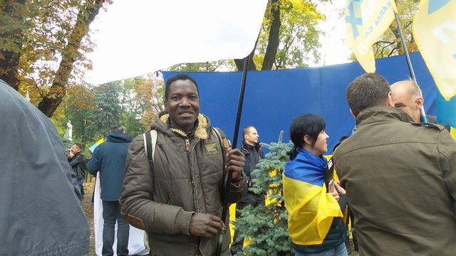 Protests near Rada building in Kyiv on Oct. 17 61