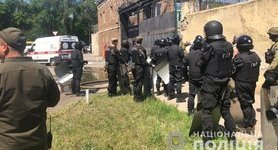 Unrest in Odesa penal colony: Four police officers injured. VIDEO&PHOTOS