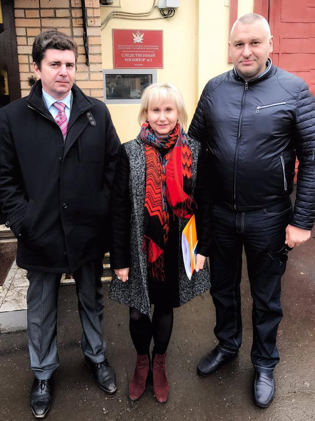 Sushchenkos wife received permission to visit her husband in Moscow prison, - lawyer Feygin 01