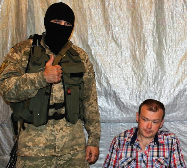 Scouts of 93rd Brigade capture their former colleague who defected to Russian terrorists a year ago 01