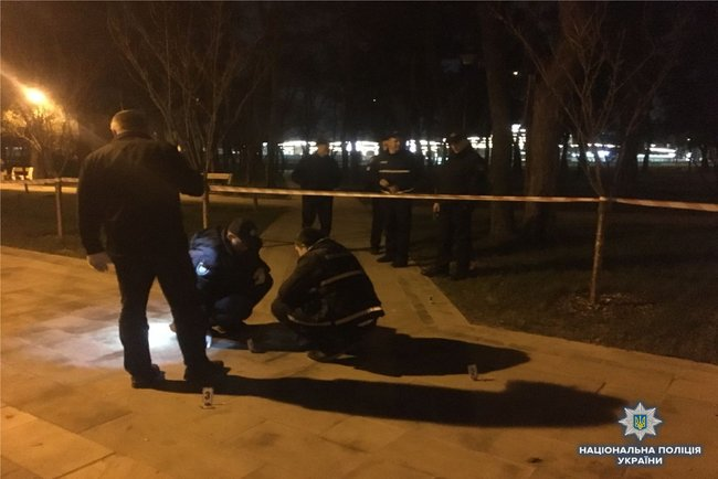 Two persons injured in alleged grenade explosion in Kyiv's Kyoto Park last night, - National Police 02