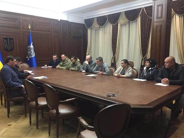 Prosecutor General Lutsenko meets with MPs, persons involved in Kolmohorovs trial, - PGO 01