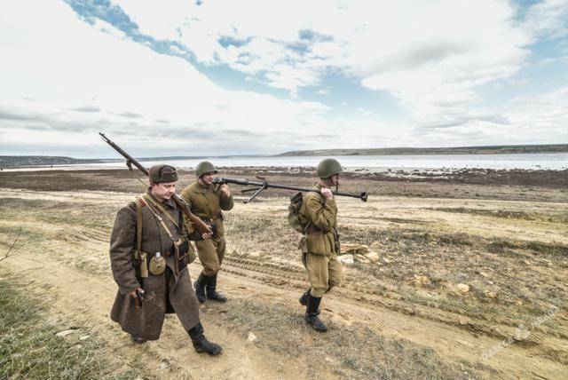 Historical reenactment of 1944 Odesa liberation battle took place in Ukraines southern region 11