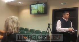 Russian court denies house arrest for kidnapped Ukrainian citizen Hryb, leaves him in pre-trial custody. PHOTOS
