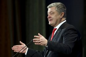 Poroshenko: Adoption of language law is truly historic decision