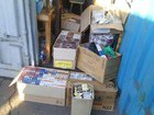 SBU unveiled transshipment base for smuggled goods for militants in Mariupol. PHOTOS