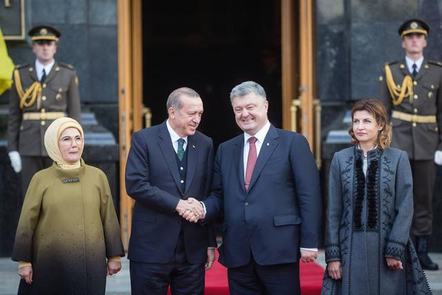Poroshenko and Erdogan holding one-on-one talks, - Tseholko 01