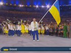 """Ukraine, greet your Olympic Team!"", - Minister Zhdanov posted video of Ukrainian athletes processing at opening of Rio Olympics. VIDEO"