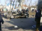 Police officer killed four car passengers in Mykolaiv. PHOTOS