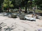 Lenin Monument in occupied Sevastopol demolished by truck. PHOTOS
