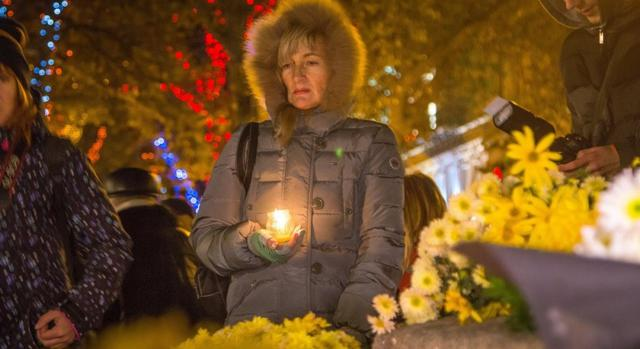 Odesa residents held rally to commemorate murdered Amina Okueva 02