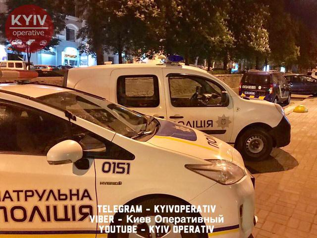 No one hurt in bomb attack on Congress of Ukrainian Nationalists' office in downtown Kyiv, - National Police 05