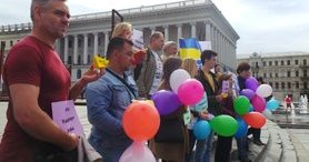 Rally in support of political prisoner Volodymyr Dudka held in Kyiv. VIDEO&PHOTOS