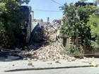 Ancient building front collapsed in Odesa, people may be buried underneath rubble. VIDEO+PHOTOS