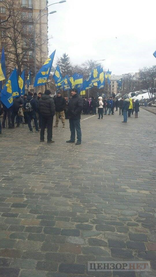 National Dignity March taking place in Kyiv downtown 04