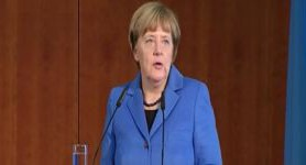 Ukraine has good preconditions for further positive development, Merkel says to German investors. VIDEO (in Ukrainian)
