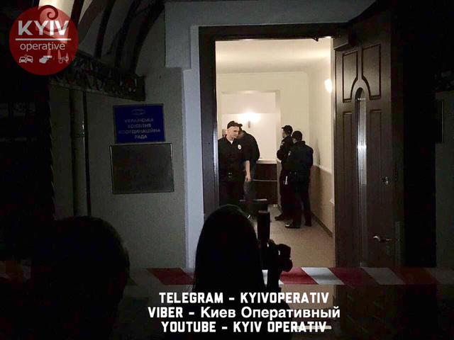 No one hurt in bomb attack on Congress of Ukrainian Nationalists' office in downtown Kyiv, - National Police 01