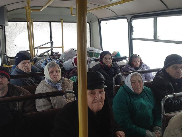 Rescuers evacuate 132 persons including 70 children from Avdiivka, - Sate Emergency Service 03