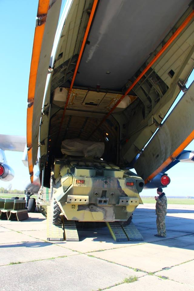 Airborne unit drills loading military hardware onboard IL-76 carrier in Zhytomyr region 03