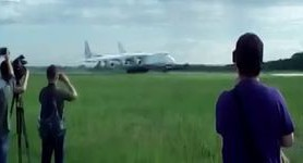 World`s largest aircraft Mriya successfully returns to Ukraine. VIDEO