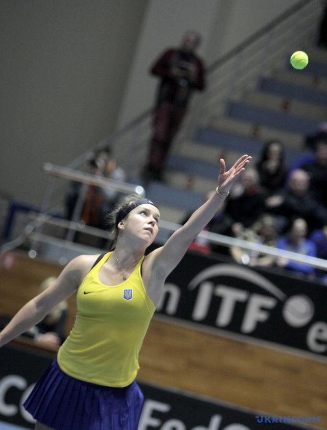 Ukrainian tennis team defeated Australia in Fed Cup 05