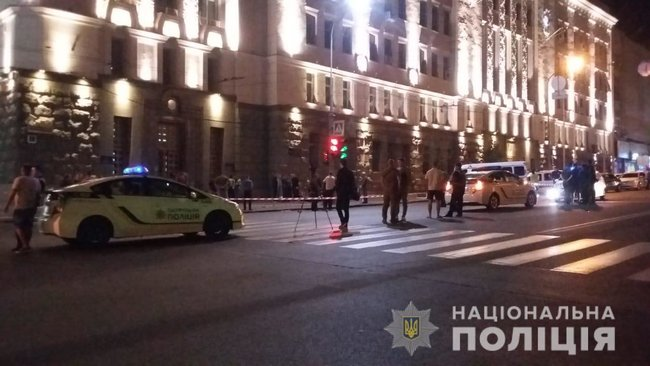 Police officer gunned down, security guard shot and wounded as unidentified gunman attacked Kharkiv City Council last night 01