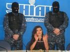 Symbol of Ukraine is Prison! Singer Ruslana Held a Press Conference in Handcuffs and Under Guard. PHOTO