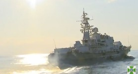 Five naval groups and air fleet to be involved in Black Sea water area protection. VIDEO