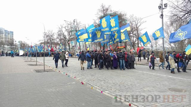 National Dignity March taking place in Kyiv downtown 03