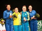 Ukrainian women`s fencing team won World Cup gold. PHOTO
