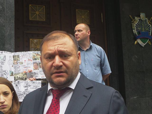 Prosecutor Generals Office served indictment to MP Dobkin 02