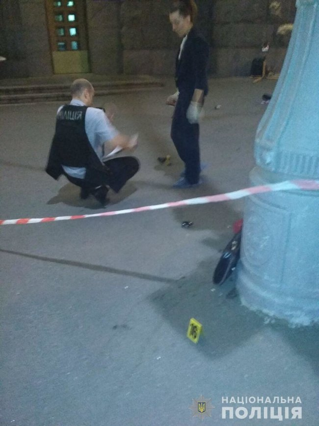 Police officer gunned down, security guard shot and wounded as unidentified gunman attacked Kharkiv City Council last night 03