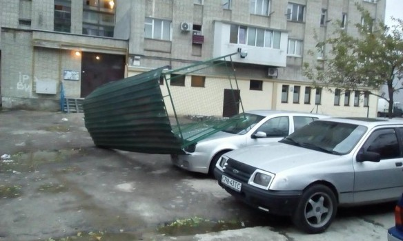 Toppled trees and damaged cars: State Emergency Service liquidating storm aftermath in Lviv and region 03
