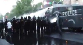 Yerevan police disperses protesters, detaining 237 people. VIDEO