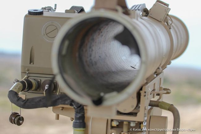 Developers test-fired advanced Skif ATGM modified for use on soft soils and sand 11