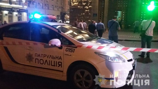 Police officer gunned down, security guard shot and wounded as unidentified gunman attacked Kharkiv City Council last night 04