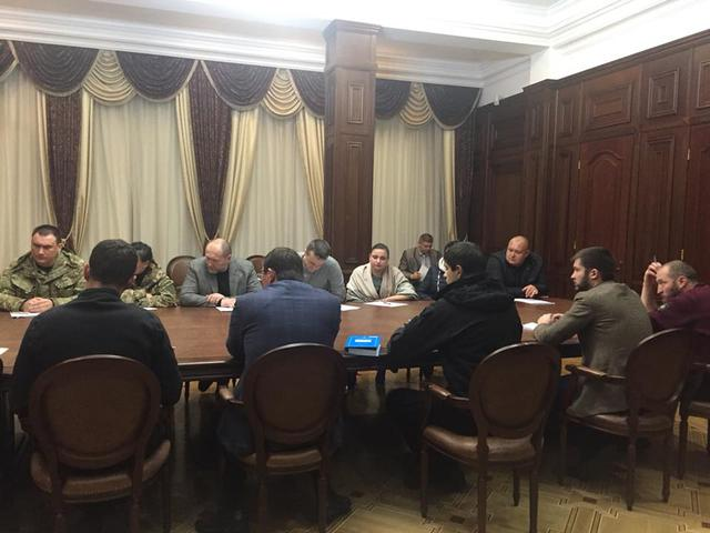 Prosecutor General Lutsenko meets with MPs, persons involved in Kolmohorovs trial, - PGO 02