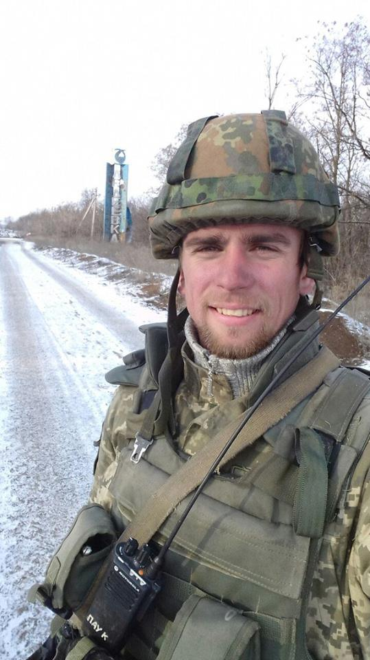 Ukrainian soldier Dmytro Overchenko killed in yesterday's battle near Avdiivka 02